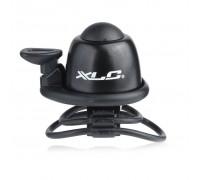 Звонок велосипедный XLC DD-M07, черный, Ø22,2-31,8 мм