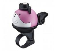 Дзвоник NUVO NH-B437AP-P01 хомут 22.2 мм рожевий