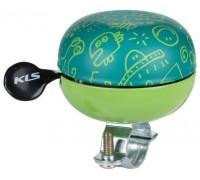 Дзвоник KLS Bell 60 Doodles зелений