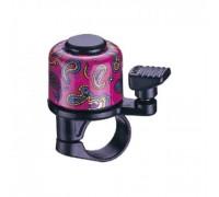 Дзвоник NUVO NH-B405AP-T2 хомут 22.2 мм кольоровий