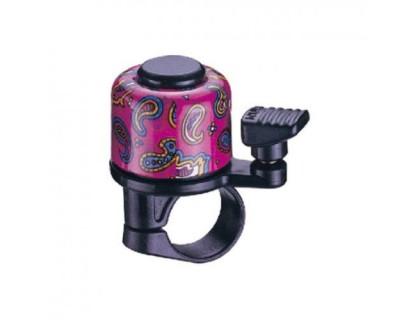 Дзвоник NUVO NH-B405AP-T2 хомут 22.2 мм кольоровий | Veloparts